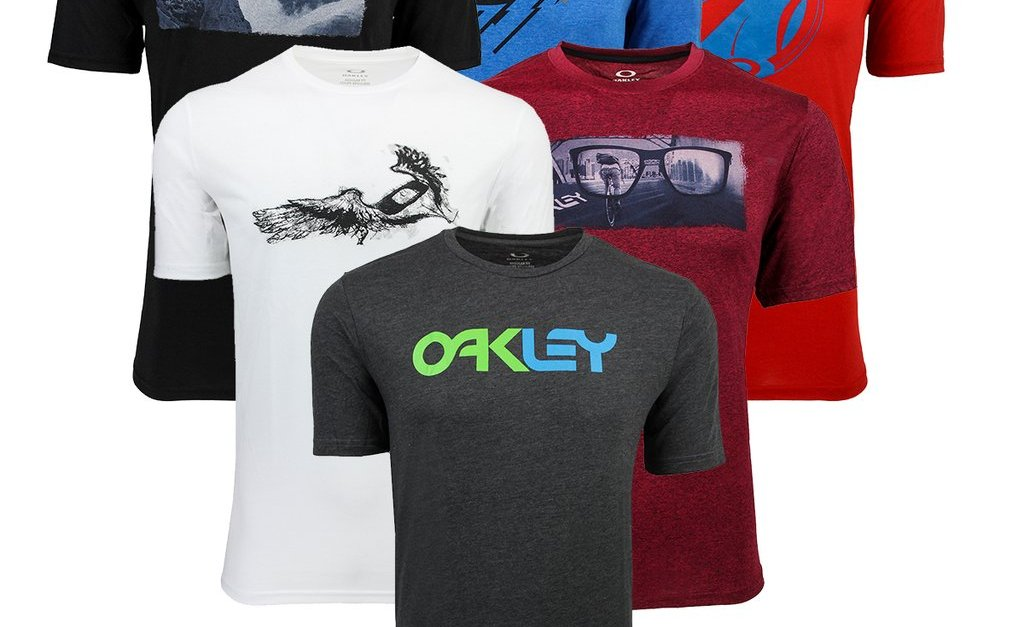 2-pack Oakley men's t-shirts for $18, free shipping