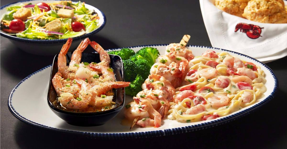 Red Lobster: Enjoy early dining entrées from $10