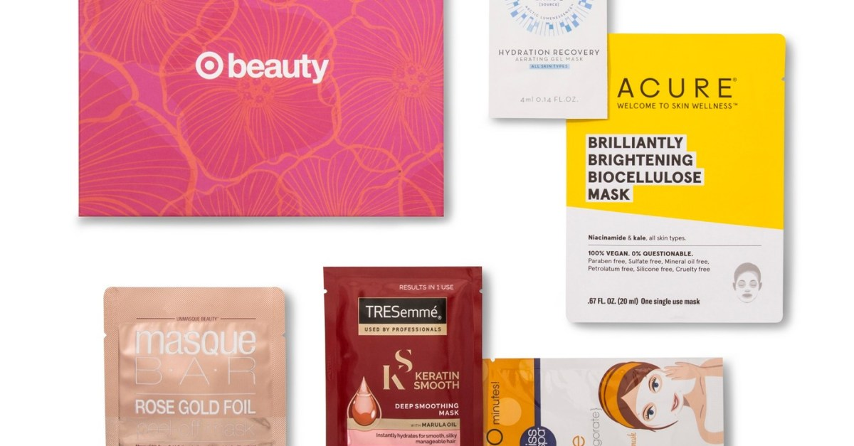 Target's beauty box includes skincare and makeup for $7