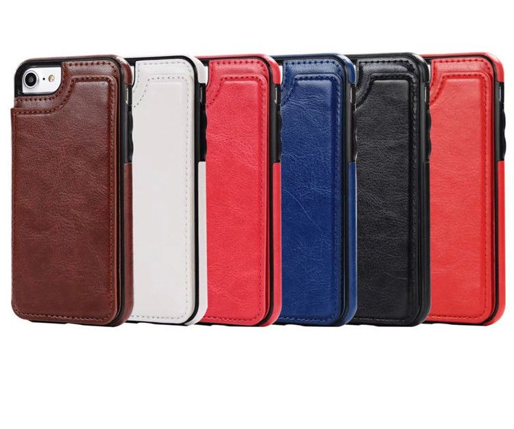 Leather flip wallet card smartphone case for $5