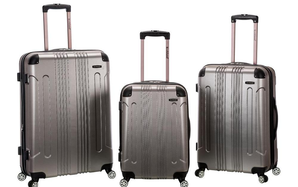  Today only: Save up to 75% on luggage sets