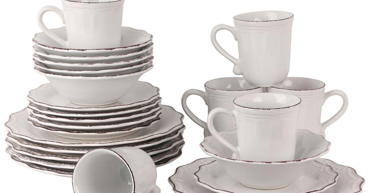 24-piece dinnerware set from $45 at Sam's Club