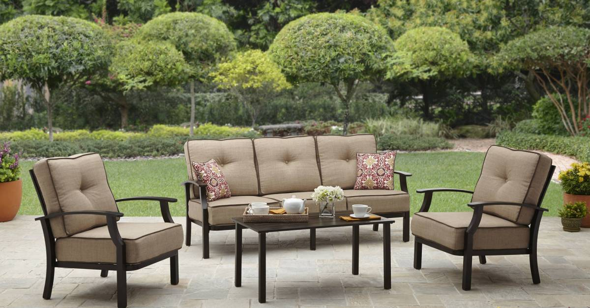 Save up to 75% on patio & garden items at Walmart