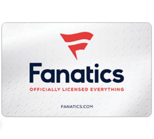 $50 Fanatics gift card for $40