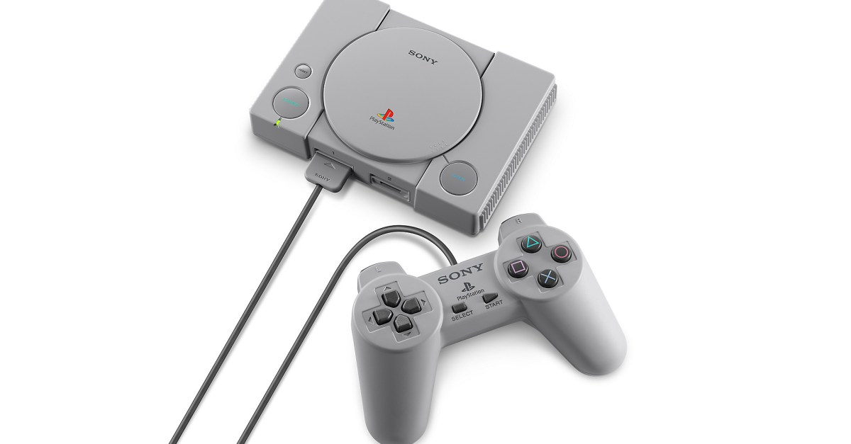 PlayStation Classic gaming console for $40