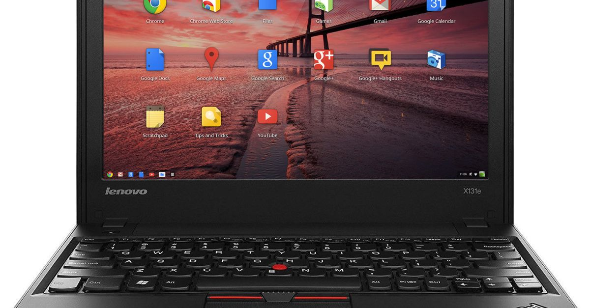 Refurbished Lenovo ThinkPad 11.6″ Chrome OS 1.5GHz 4GB 16GB SSD laptop for $75, free shipping
