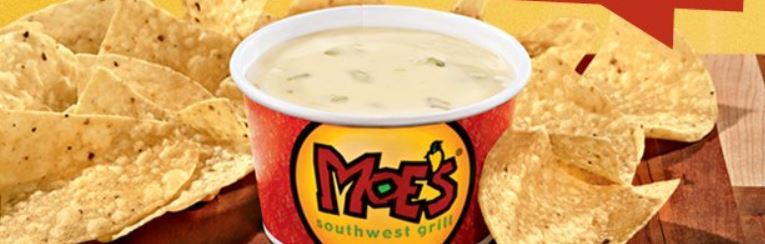 Moe's: Get FREE queso today for Free Queso Day!