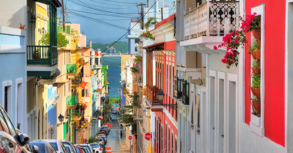 Flights to San Juan, Puerto Rico in the $200s round-trip
