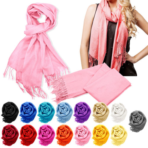 Women's cashmere blend scarf for $6, free shipping