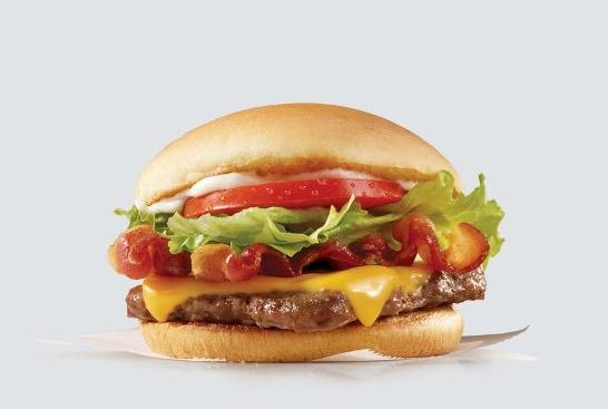 Get a Jr. Bacon Cheeseburger for just $1 at Wendy's