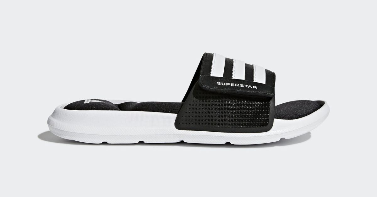 Adidas men's Superstar 5G slides for $16, free shipping