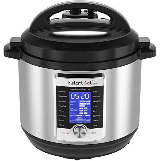 Prime Day price! Instant Pot Ultra 8-qt 10-in-1 programmable pressure cooker for $120