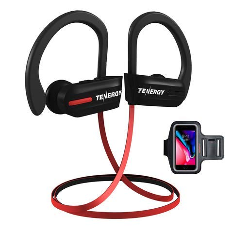 Tenergy Bluetooth wireless headphones and sport armband for $17