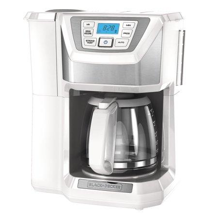 Black + Decker 12-cup programmable coffeemaker for $31