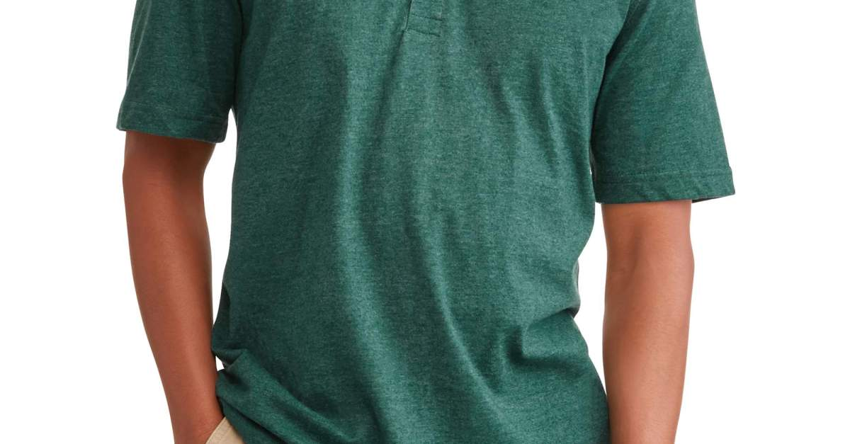George men's short sleeve polo shirts under $4
