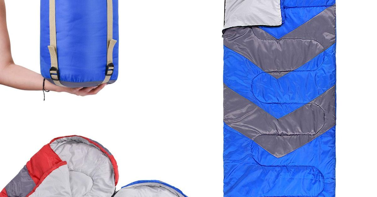Today only: Abco Tech sleeping bag with hood for $20