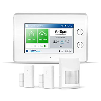 Samsung SmartThings ADT wireless home security starter kit for $100