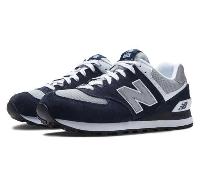 Today only: Men's 574 New Balance shoes for $32 shipped