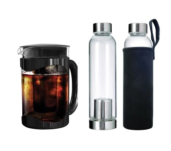 Today only: Primula cold brew coffee maker with 2 travel brewers for $34 shipped