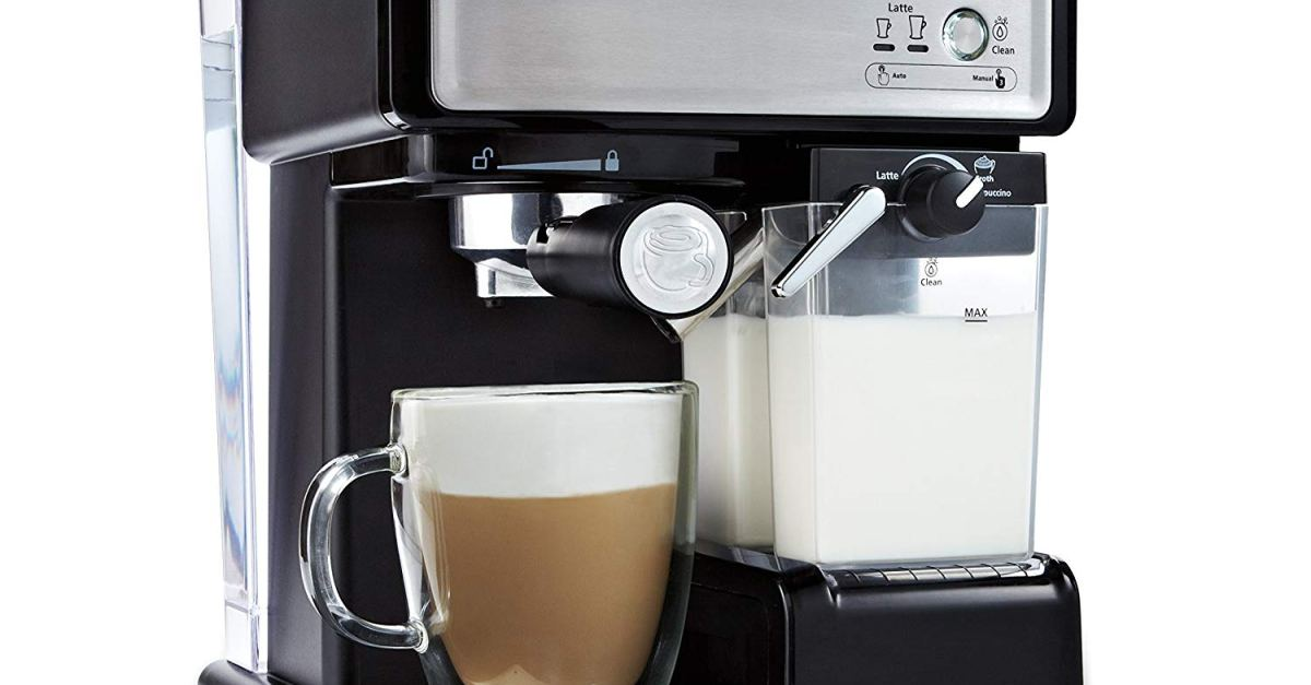 Today only: Mr. Coffee Cafe Barista espresso maker for $100