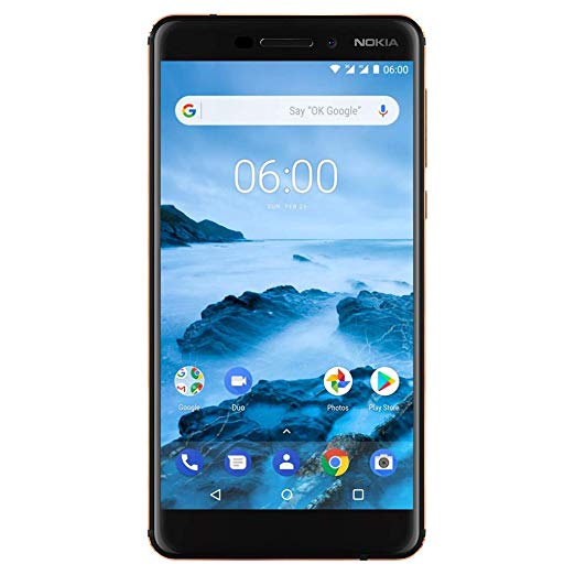 32GB Nokia 6.1 5.5″ unlocked smartphone for $200