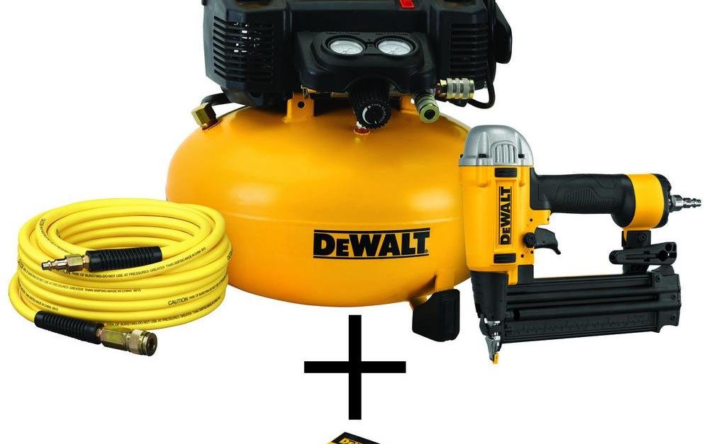 Today only: Nailers and compressors from $78