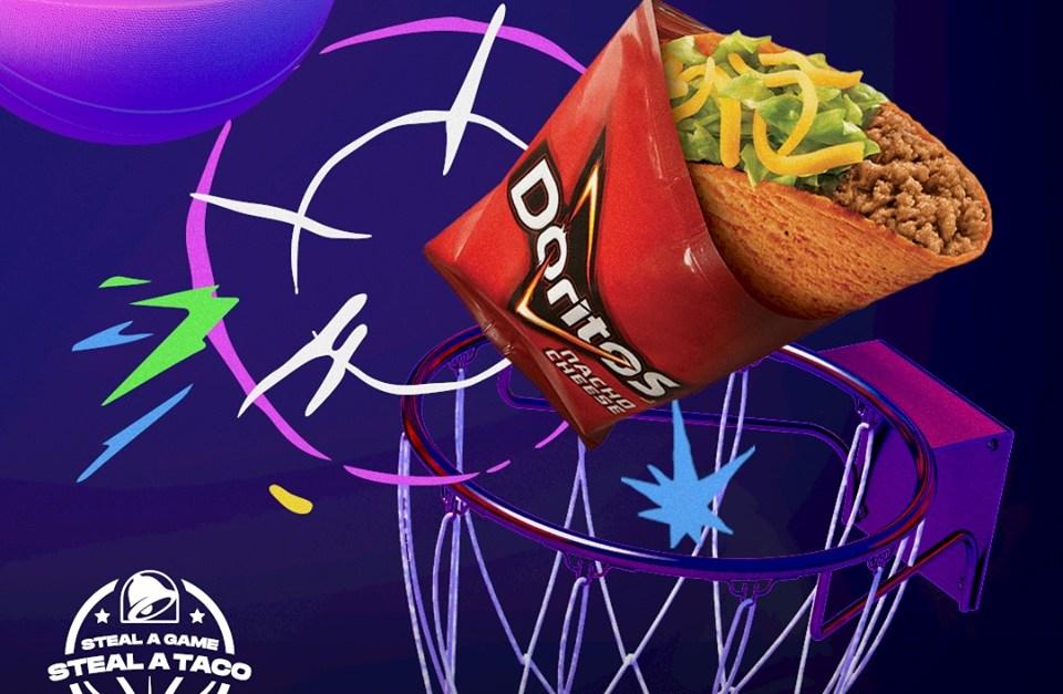 Taco Bell: Get a FREE Doritos Locos taco!