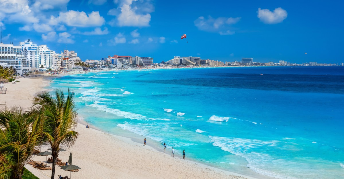 Flights to Cancun in the $200s round-trip!