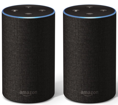 2-pack Amazon Echo 2nd Gen speakers for $100