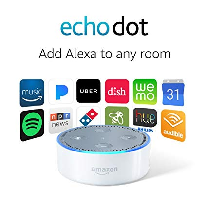 Today only: Used Amazon Echo Dot for $15