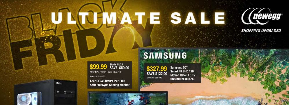 Newegg Black Friday ad: Here are the best deals!