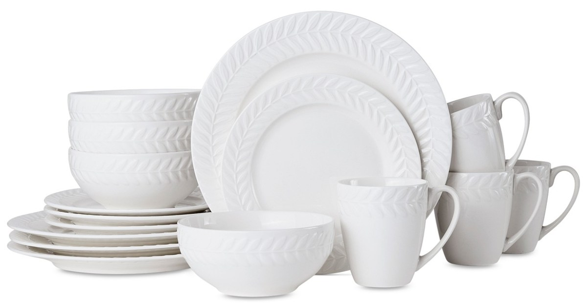 16-piece Pfaltzgraff dinnerware set for $20