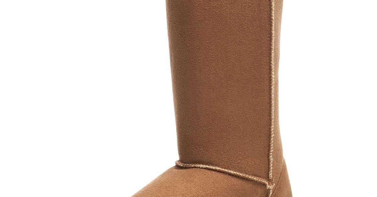Price drop! Alpine Swiss women's faux shearling sheepskin boots for $15, free shipping