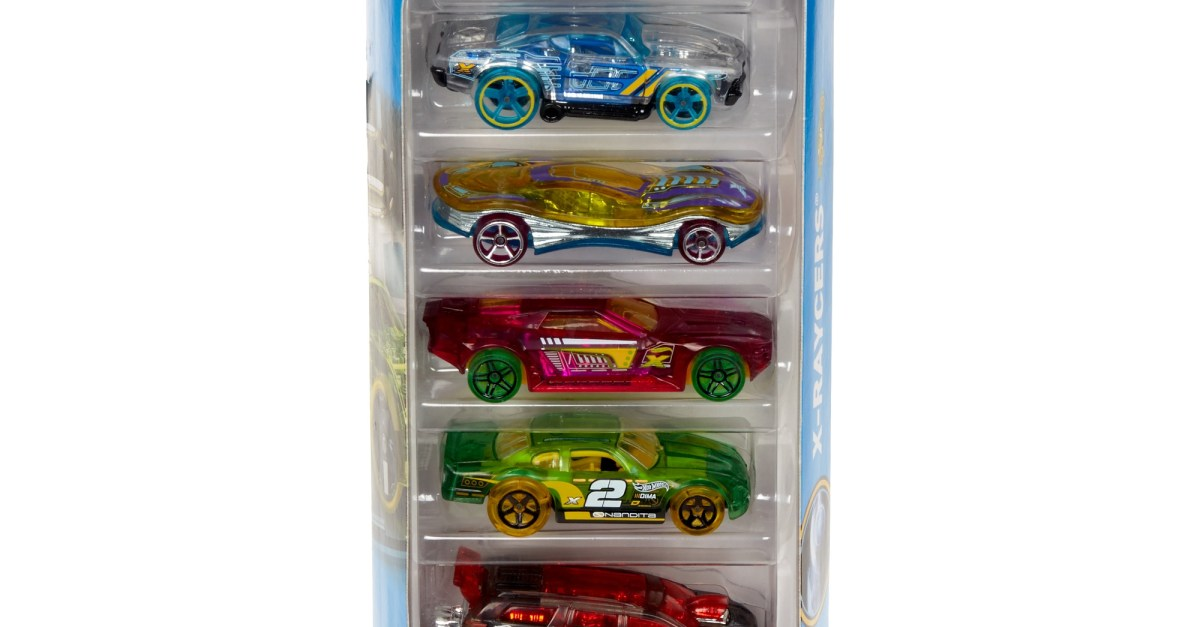 Hot Wheels 5-car gift pack for $4