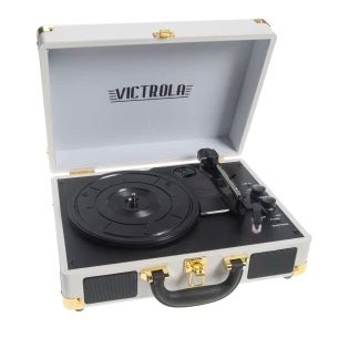 Today only: Victrola Bluetooth turntable for $34 shipped