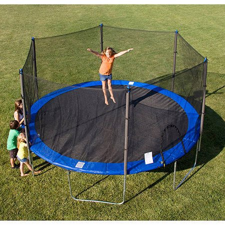 Airzone 15-Foot Trampoline, with Safety Enclosure