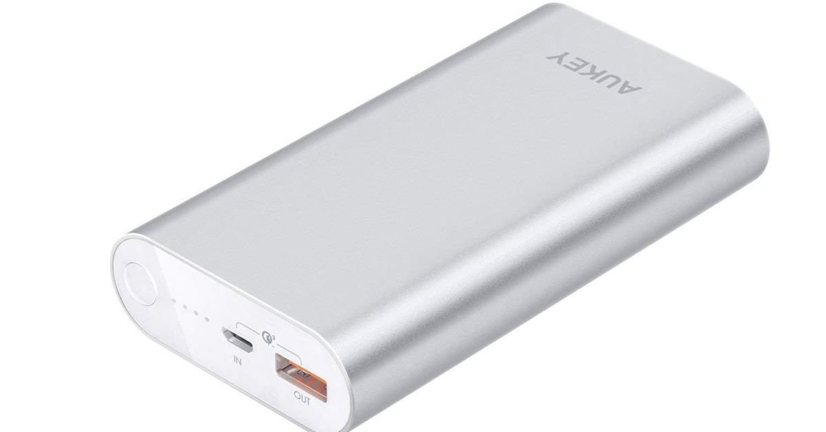 Aukey 10050mAh portable charger for $18, free shipping