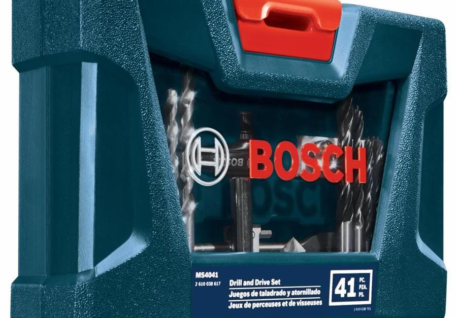 Bosch drilling and driving 41-piece screwdriver bit set for $9