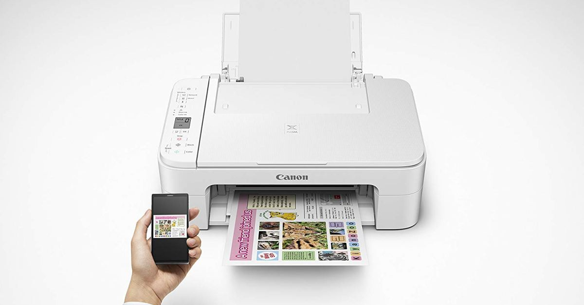 Canon wireless all-in-one printer for $40, free shipping