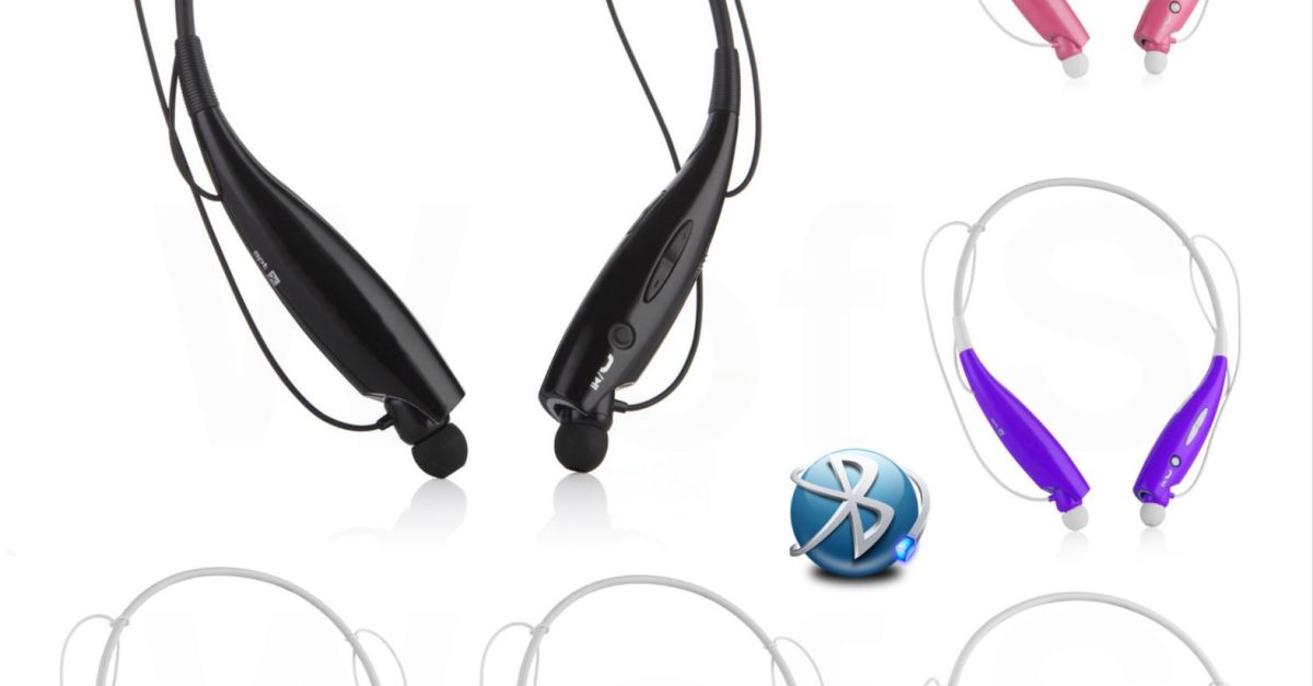 Wireless Bluetooth stereo headphones for $8, free shipping