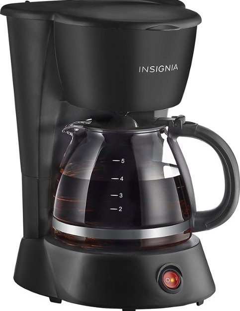 Today only: Insignia coffee maker for $5