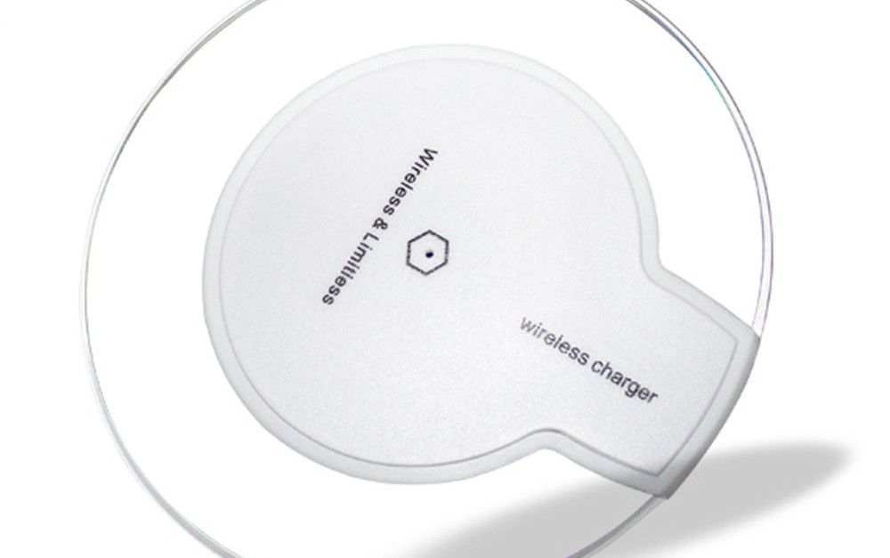 Qi wireless charging pad for $8, free shipping