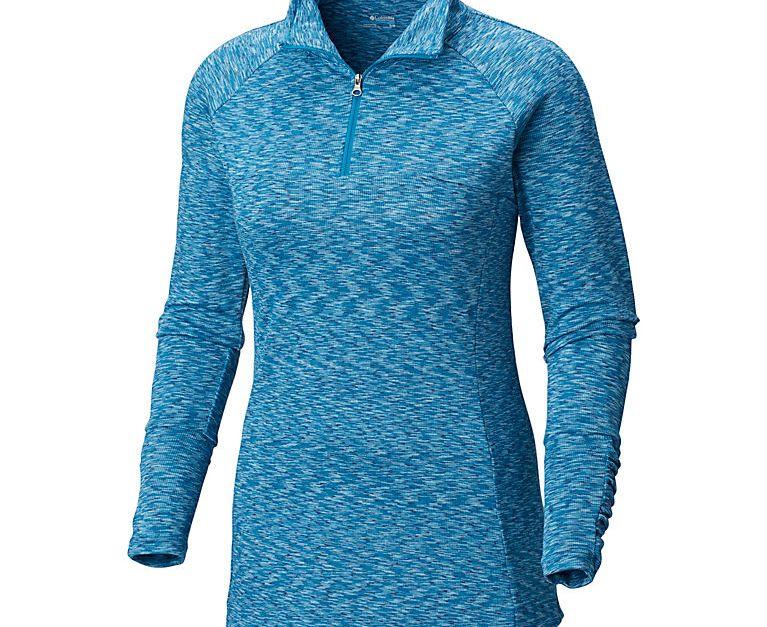 Women's OuterSpaced III half zip fleece for $20