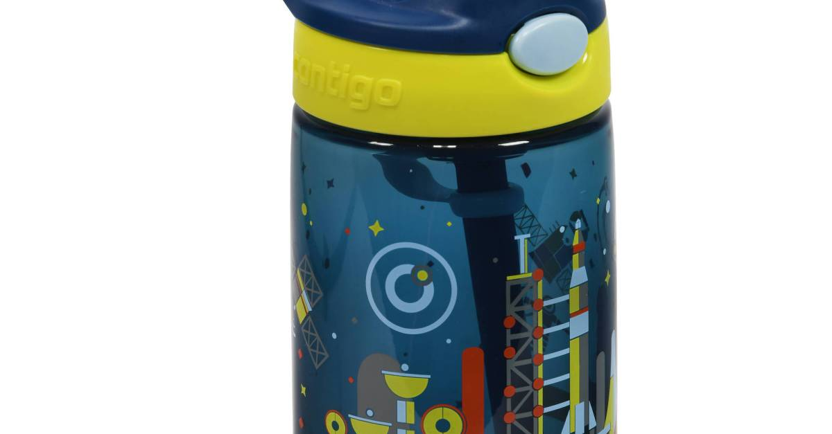 Contigo Gizmo Flip kids water bottle for $5