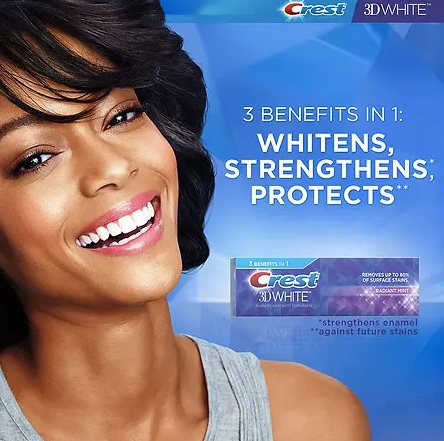 Crest toothpaste for $1 at Walgreens