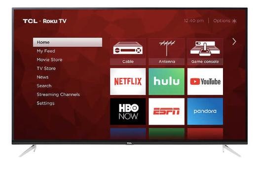 Costco members: 75″ TCL 4k Roku TV for $999