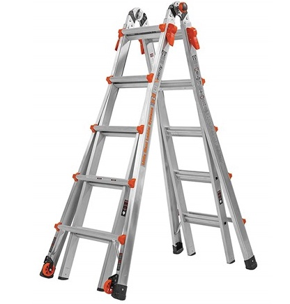 Today only: Refurbished Little Giant Velocity 22′ ladder for $170
