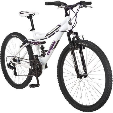 26″ Mongoose Ledge 2.1 women's mountain bike for $99