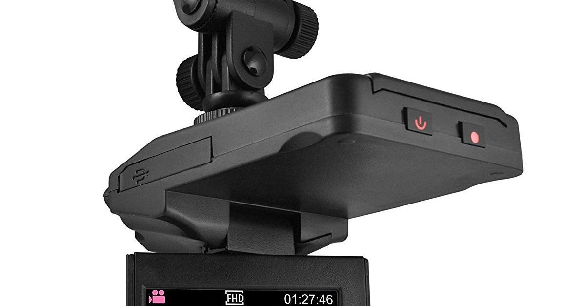DP audio video dash cam with night vision for $14