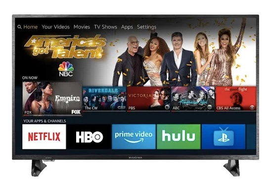 43″ Insignia 4K Fire smart TV for $180 (New Google Express customers)